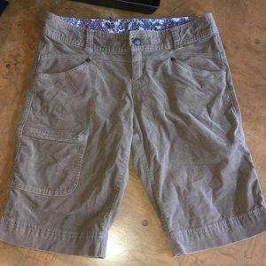 Athleta Cargo shorts